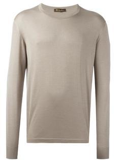 свитер с круглым вырезом   Loro Piana