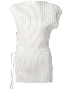 ribbed blouse Jacquemus