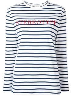 stéréotype embroidery T-shirt Être Cécile