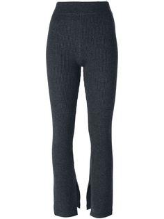 вязаные брюки в рубчик Iro