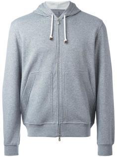 zipped hoodie  Brunello Cucinelli