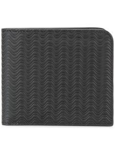 embossed waves bi-fold wallet Zanellato