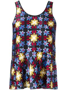 patterned vest top Forte Forte