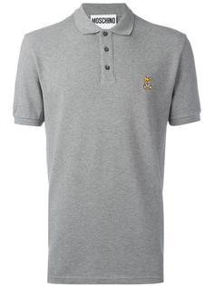 рубашка-поло с логотипом Moschino