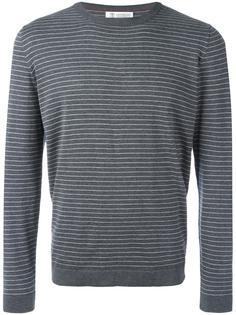 striped sweatshirt Brunello Cucinelli