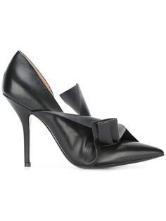 туфли-лодочки с элементом узла Nº21