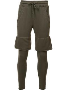 многослойные спортивные брюки Publish