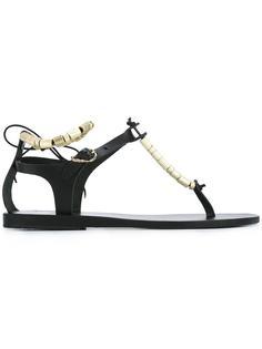 Chrysso Column Beads sandals Ancient Greek Sandals
