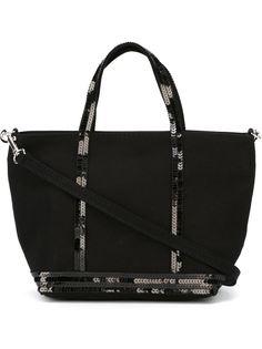 сумка-тоут с окантовкой из пайеток Vanessa Bruno