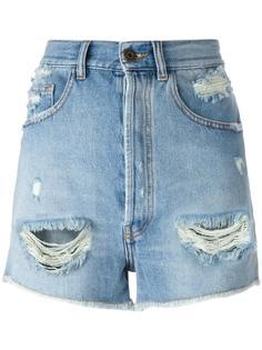 джинсовые шорты с завышенной талией Faith Connexion