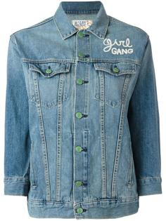 Girl Gang denim jacket  Sandrine Rose