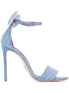 Minnie Denim sandals  Oscar Tiye