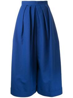 широкие плиссированные брюки  Delpozo