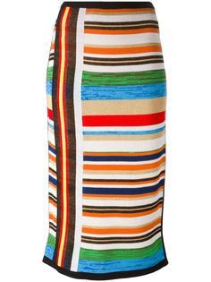 striped knit skirt  Nº21