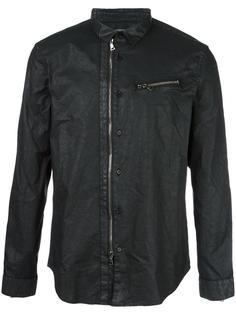coated shirt jacket  John Varvatos