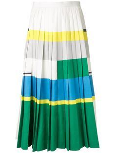 плиссированная юбка колор-блок  Enföld