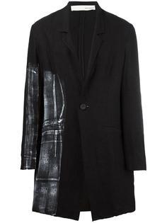 single breasted coat Isabel Benenato