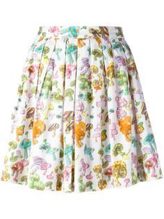 плиссированная юбка с принтом грибов  Olympia Le-Tan