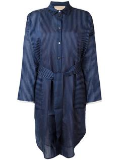 striped shirt dress Erika Cavallini
