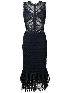 fitted crochet dress Jonathan Simkhai