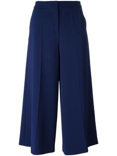 укороченные широкие брюки Boutique Moschino