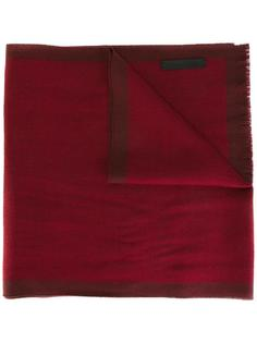двухцветный шарф Ermenegildo Zegna
