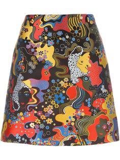 jacquard a-line skirt Mary Katrantzou