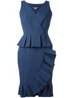 платье с баской Boutique Moschino