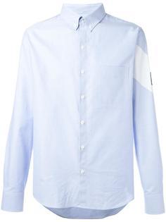 contrast diagonal band shirt  Moncler Gamme Bleu