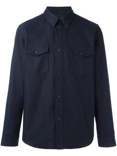 куртка-рубашка с нагрудными карманами Calvin Klein Collection