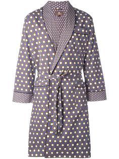 cobalt cravat dressing gown Otis Batterbee