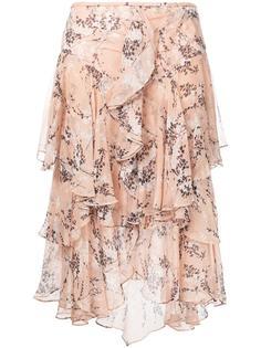 draped ruffle skirt Jason Wu