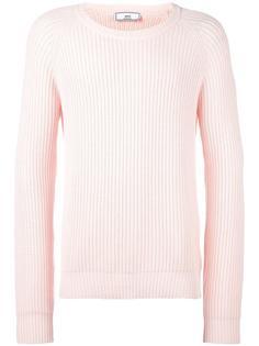 свитер с круглым вырезом в рубчик Ami Alexandre Mattiussi