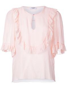 ruffle trim blouse Vilshenko