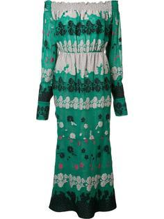 платье Daisy с открытыми плечами Yigal Azrouel