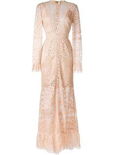 """кружевное платье """"Melrose"""" Elie Saab"""