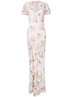 long floral print dress  Vilshenko