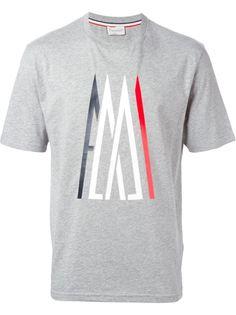 футболка с принтом логотипа   Moncler X Ami
