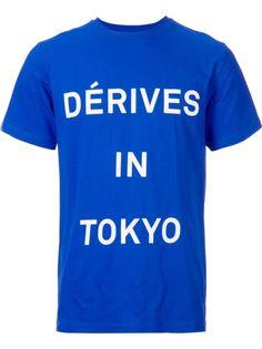 футболка En route x Études Studio Dérives in Tokyo  En Route