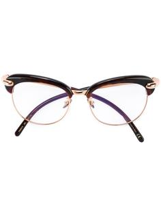 oversized frame glasses Pomellato