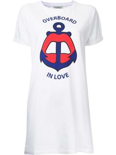Overboard In Love T-shirt dress  Yazbukey