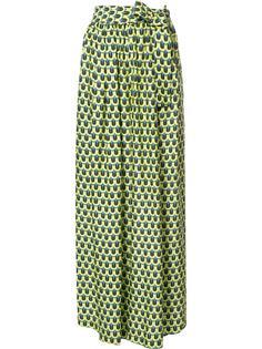 брюки с геометрическим принтом Tome