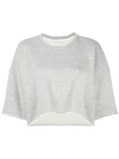 three-quarters sleeve loose sweatshirt Faith Connexion
