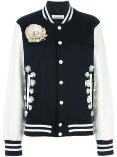 куртка бомбер с контрастными деталями Night Market