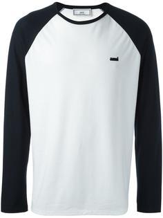 спортивная футболка с рукавами-реглан Ami Alexandre Mattiussi