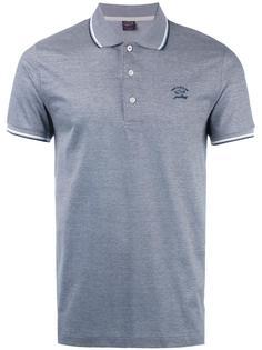 рубашка-поло с принтом логотипа Paul & Shark