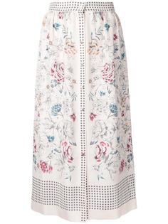 printed button skirt Vilshenko