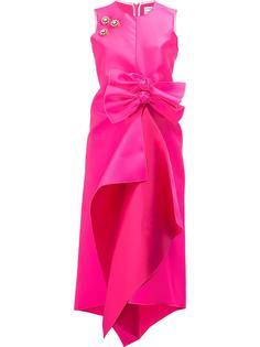 embellished front bow dress Maison Rabih Kayrouz
