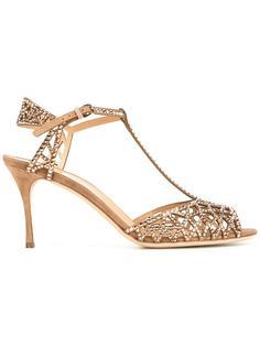 embellished sandals  Sergio Rossi
