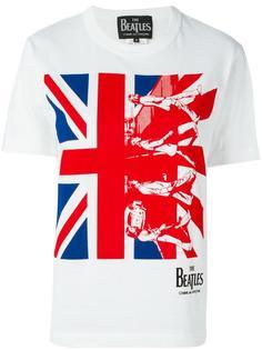 "футболка ""The Beatles Union Jack"" с принтом Comme Des Garçons"